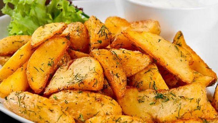 КАРТОШКА ПО ДЕРЕВЕНСКИ! Вкусный рецепт картошки. Картофель в духовке.