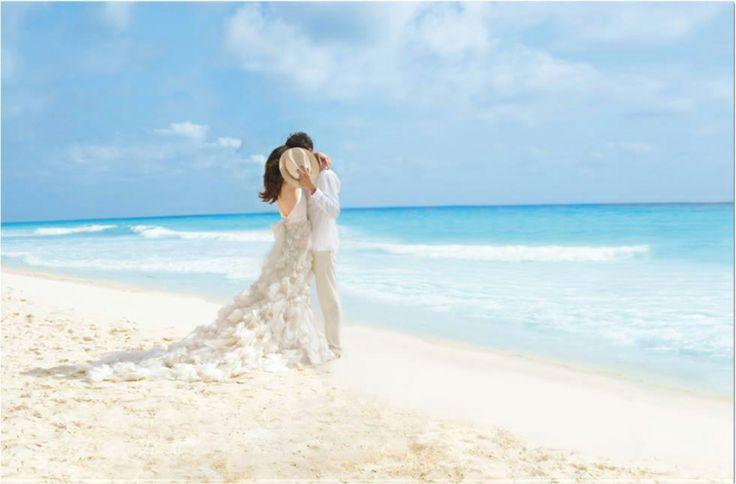 """Like us on Facebook.com/PalaceResortsWeddings and click """"Enter to Win"""" for your chance at a 7-night honeymoon in paradise. #giveaway #contest #wedding #honeymoon giveaway, contest, wedding, honeymoon"""