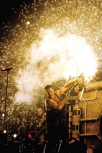 till lindemann- i'd give anything to see them live. just once. D: