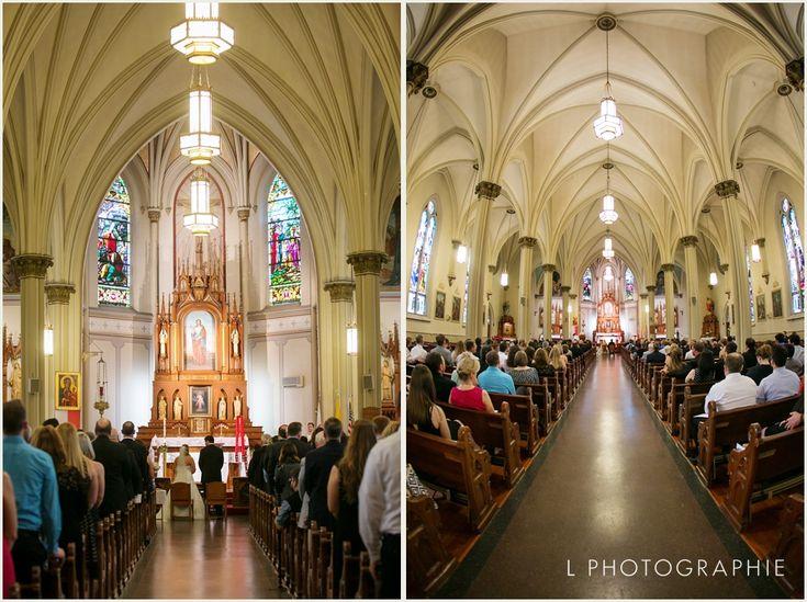Wedding Ceremony At St Agatha Catholic Church In South City Louis MO