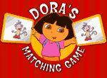 Encuentra parejas con Dora en los juegos infantiles gratis para niños y niñas de VivaJuegos.com