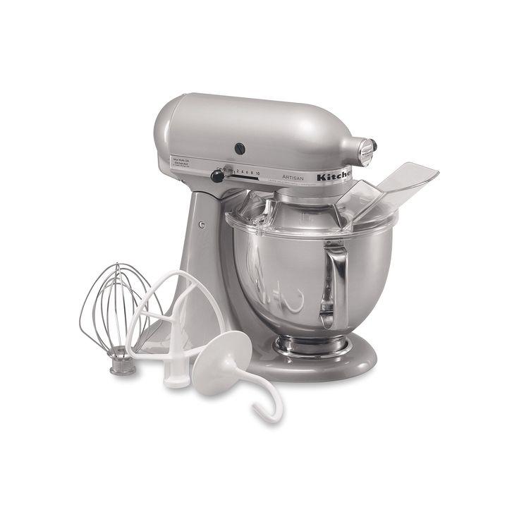 KitchenAid KSM150PS Artisan 5-qt. Stand Mixer, Grey