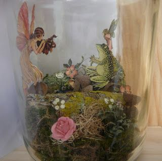 Workshop for miracles: Capture fairy in a jar - tutorial