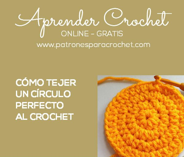 Patrones para Crochet: Curso Crochet