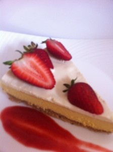 Paleo 3 Layer Cheesecake