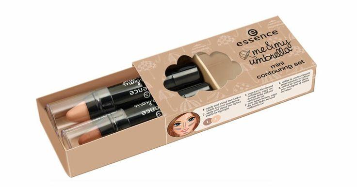 Van de Me And My Umbrella collectie. Een highlighting pencil en een contour pencil. Deze twee producten zijn erg creamy waardoor ze makkelijk te blenden zijn. De contour pencil heeft een taupe kleurige ondergrond en de highlighter een parelmoer kleur. Beiden producten zijn erg mooi en zijn zeker geschikt als je een lichte of licht getinte huid hebt. Heb je een donkere of heel erg lichte huid? Dan raad ik je deze producten af.