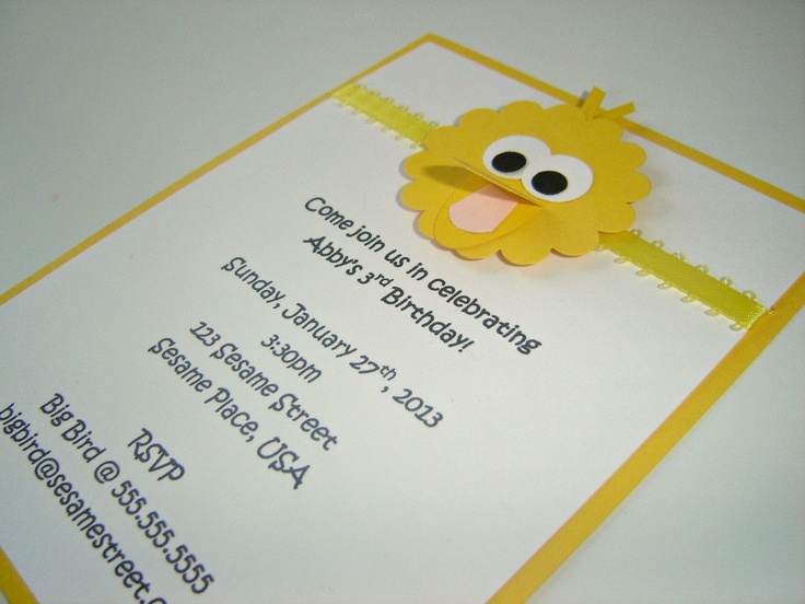 284 best party mateos 1st party elmo images – Homemade Elmo Birthday Invitations