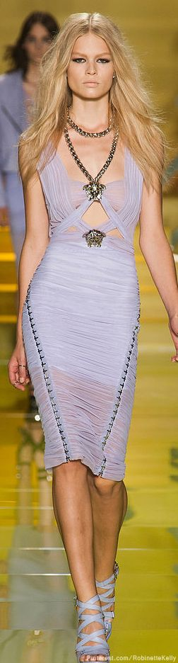 Versace gown | S/S 2014 RTW bellydance costume inspirations