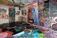 Interior of Artist Tommy McHugh's home