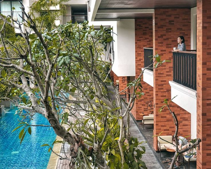 #Bali. Friday  long weekend = relax & recharge. We really enjoyed our #staycation in this cozy & lovely boutique hotel of @JambuluwukOceanoSeminyak
