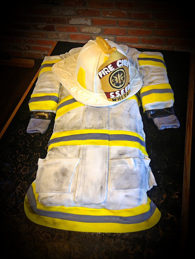 52 Best Images About Firefighter Cakes On Pinterest