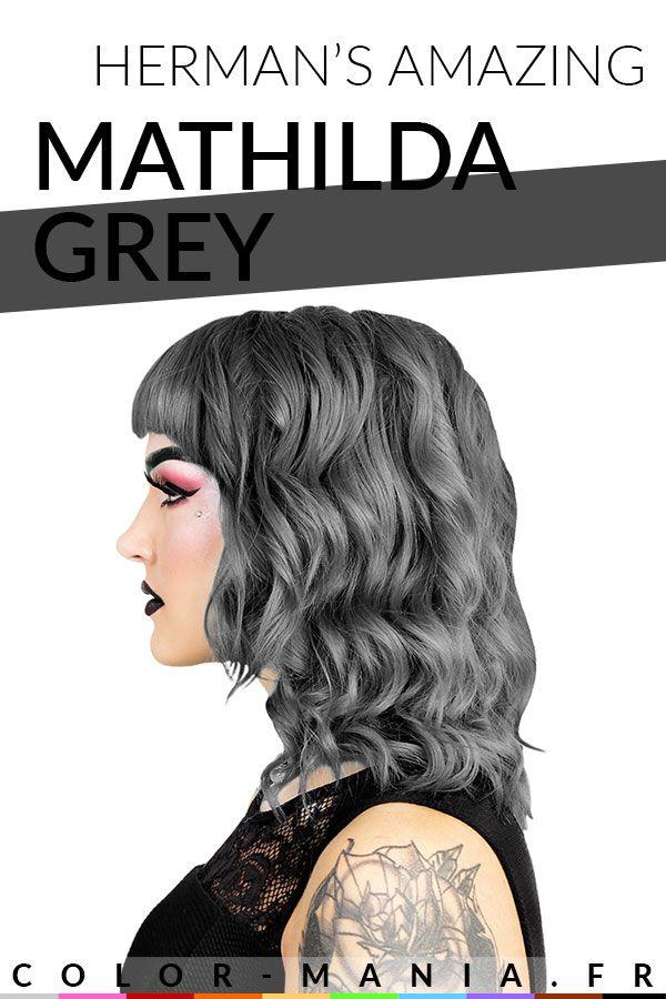 Coloration Cheveux Gris Granny Mathilda Grey Herman S Amazing