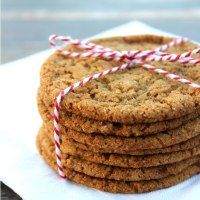 Crisp and Chewy Ginger Snap Cookies - White Lights on Wednesday