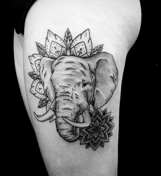 22 Best Asian Elephant Tattoo Designs Images On Pinterest