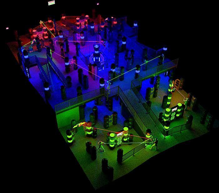 17 Best Laser Tag Arena Images On Pinterest Lazer Tag