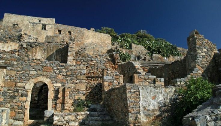 Spinalonga - Abandoned fortress turned leper colony, Greece
