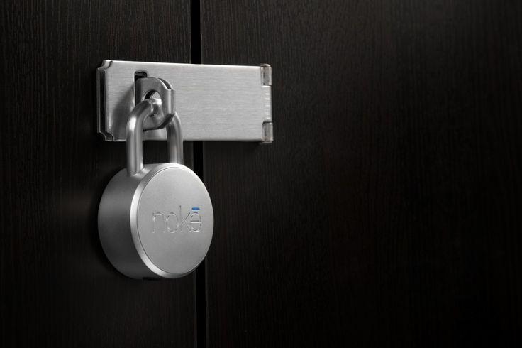 Bluetooth-gesteuertes (Vorhänge-)Schloss – Noke Padlock