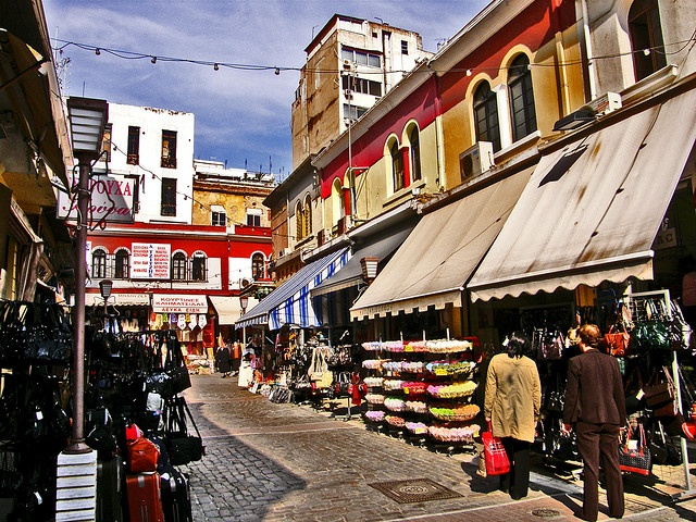 thessaloniki old,market