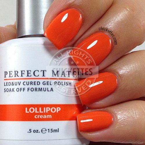 LeChat Perfect Match Lollipop - Chickettes.com | Soak-Off ...