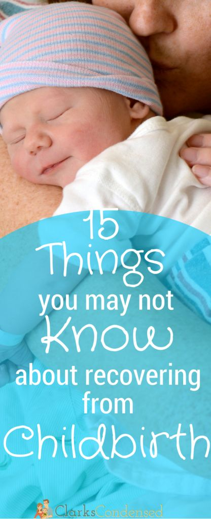 Giving birth is an exciting event in any women's life - but it's good to be prepared! Here are 15 thing you might not know about child birth…