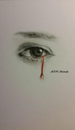 MLP's Portraits-Après le sang coulent les larmes- Larme de Sang