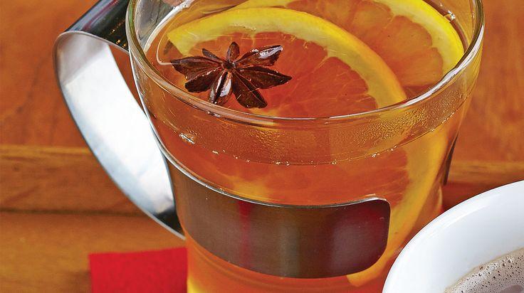Orange-Spice Mulled Apple Cider
