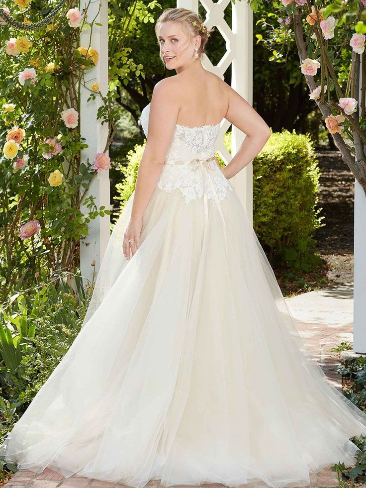 88 best secret garden collection images on pinterest casablanca a perfect sweetheart neckline and straight across back frame the drop waist silhouette of this bodice casablanca wedding dresseswedding junglespirit Images