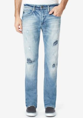 Buffalo David Bitton Men's Six Super Stretch Jeans - Indigo - 36 X 32