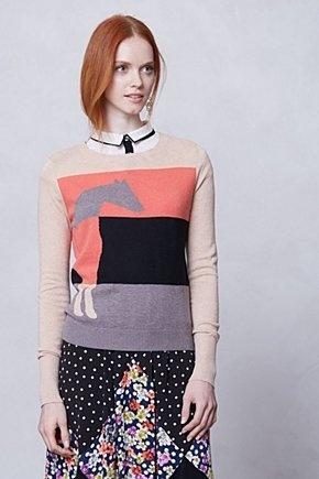Lusitano Sweater | Anthropologie.eu | knitwear inspiration