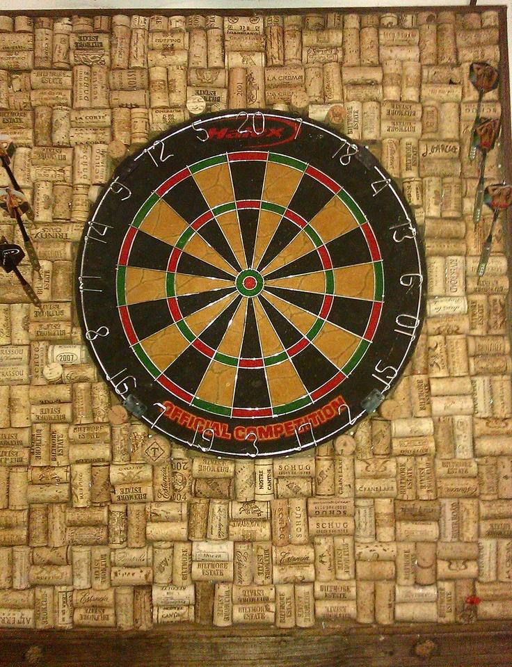 dart board made out of wine corks for the home garden pinterest dart board darts and corks. Black Bedroom Furniture Sets. Home Design Ideas