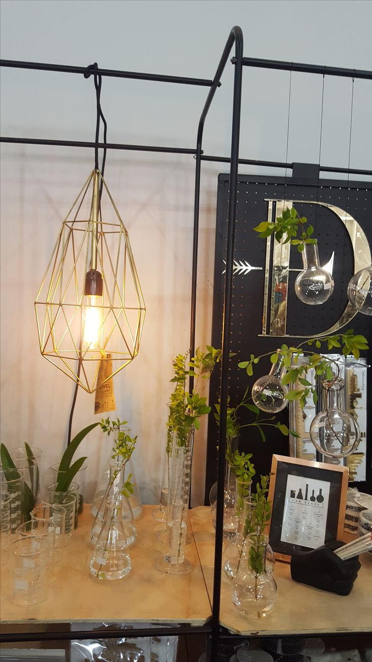 Jewel light setting the mood at our Kamers stand.