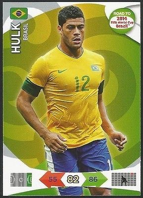 #Panini - road to the #world cup 2014 #027 - brazil - hulk - #brasil,  View more on the LINK: 	http://www.zeppy.io/product/gb/2/400516703837/