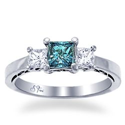 teal wedding rings 1000 ideas about teal engagement ring on 7934