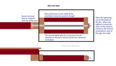 Bolt-On Cigar Box Guitar Neck and Other Building Tips - Cigar Box Nation
