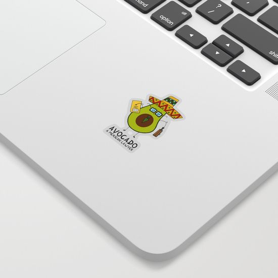 Avocado - A mexican lawyer Sticker