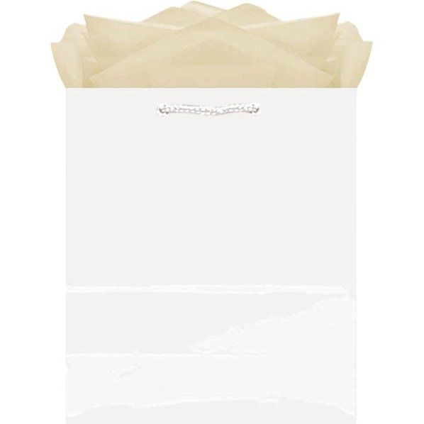 Check out White Medium Glossy Paper Bag - Wholesale Party Supplies from Wholesale Party Supplies