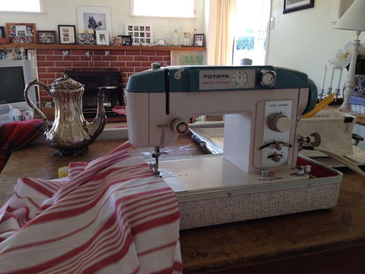 My treasured Toyota sewing machine
