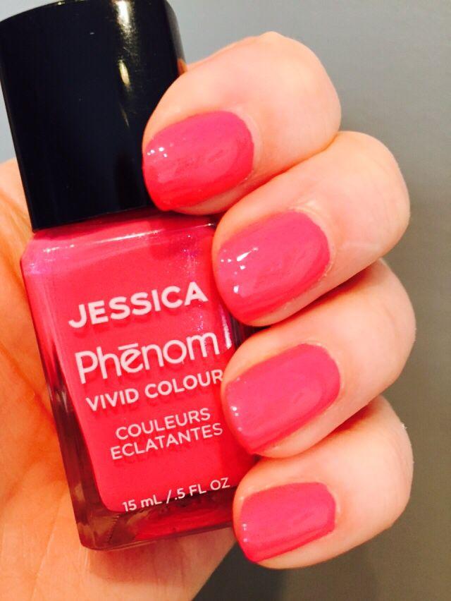 Jessica's Phenom Barbie Pink at The Nail Boudoir