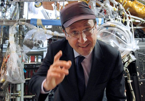 Francois Hollande Saint Nazare Swagg Snap