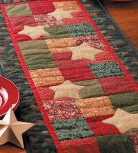 Quilted Star Table Runner   Sewing Craft   Quilting   Holiday Crafts — Country Woman Magazine