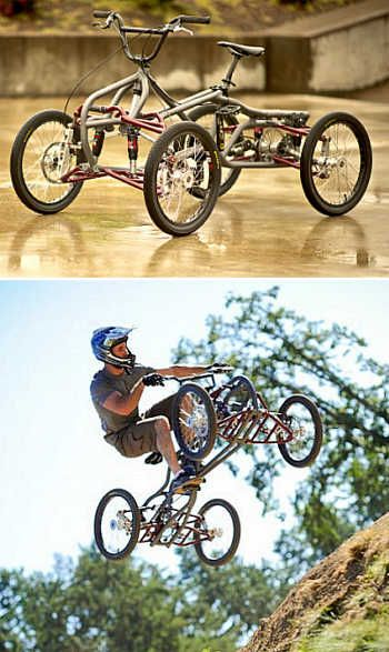 Four-wheel bike Contes Engineering Athos
