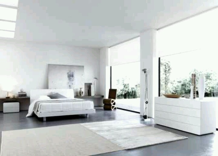 All White Bedroom Awesome House Pinterest
