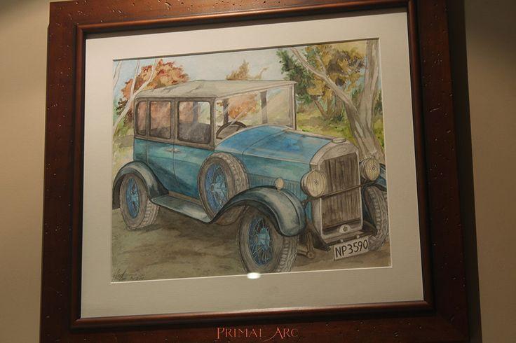 'Humber at the Park', watercolour. www.primalarc.com