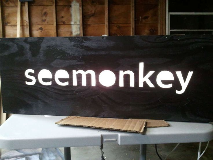 backlit sign cut out of plywood.  SOOO cool and relatively easy to do.... if I had a jig saw.  Might have to invest :)