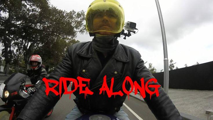 riding around Perth Western Australia