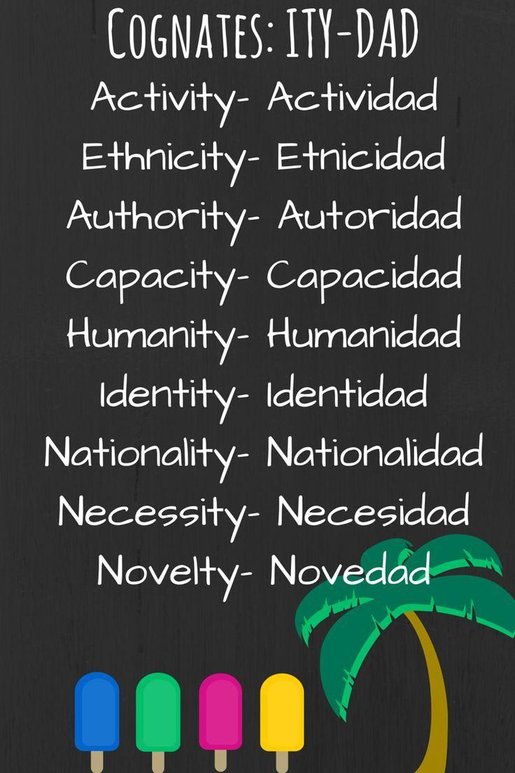 225 besten Teaching Spanish Vocabulary Bilder auf Pinterest | Lehrer ...