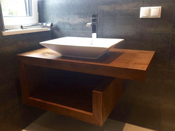 Unterschrank offen kleines Bad - shelf small bathroom Badmöbel - badmöbel kleines badezimmer