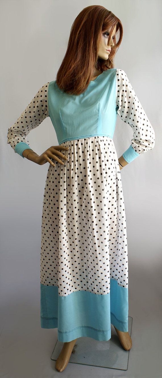 Rare Jean Muir vintage late 1960s spotty by MissPeelpants on Etsy