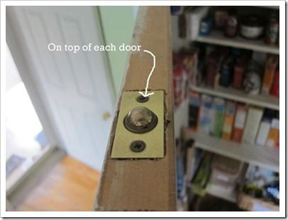 A Fix For Double Doors That Did Not Have A Jam To Stop