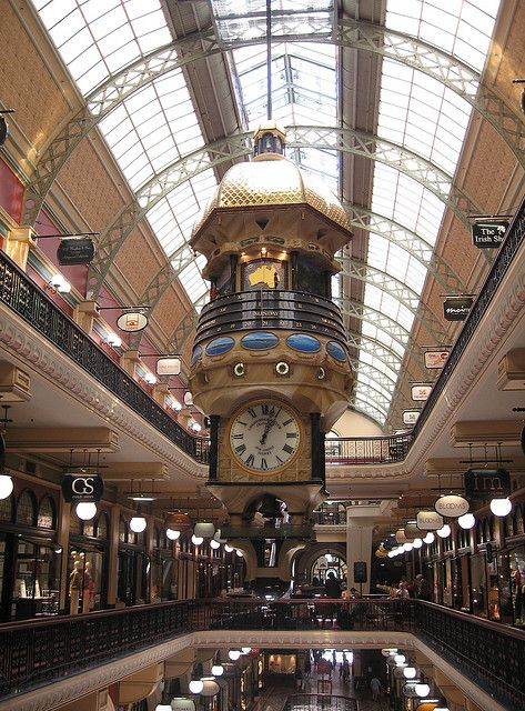 This image is of the interior of the 'Queen Victoria Building' in Sydney which I visited a few years ago, it was so mesmirising, it did not want to leave.